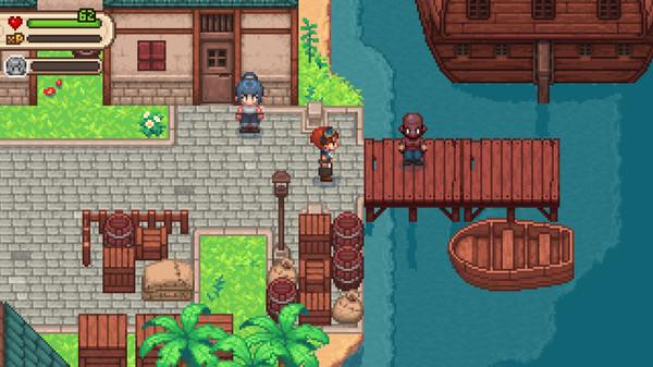 Screenshot of Evoland 2
