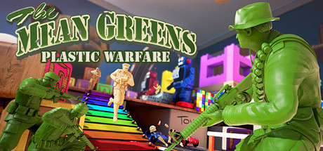 The Mean Greens - Plastic Warfare Cover Image