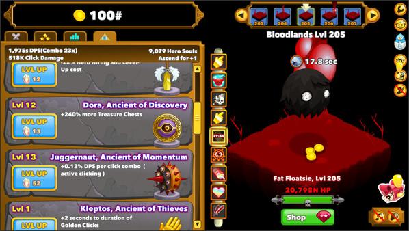 Clicker Heroes скриншот