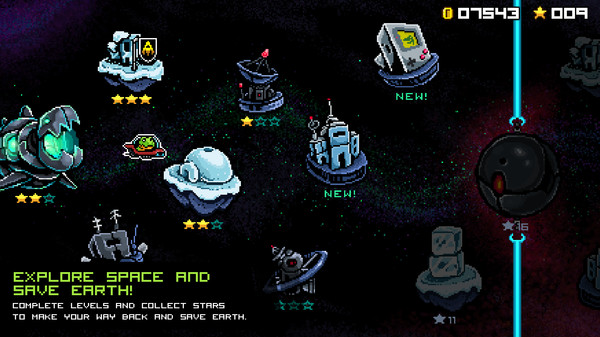 скриншот JumpJet Rex - Soundtrack 4