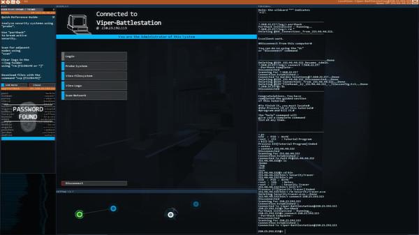 Hacknet скриншот