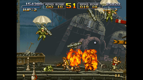 METAL SLUG скриншот