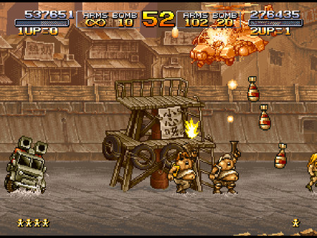 METAL SLUG 2 скриншот