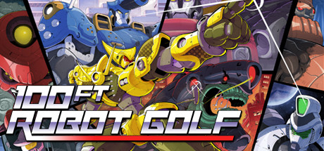 100ft Robot Golf Cover Image