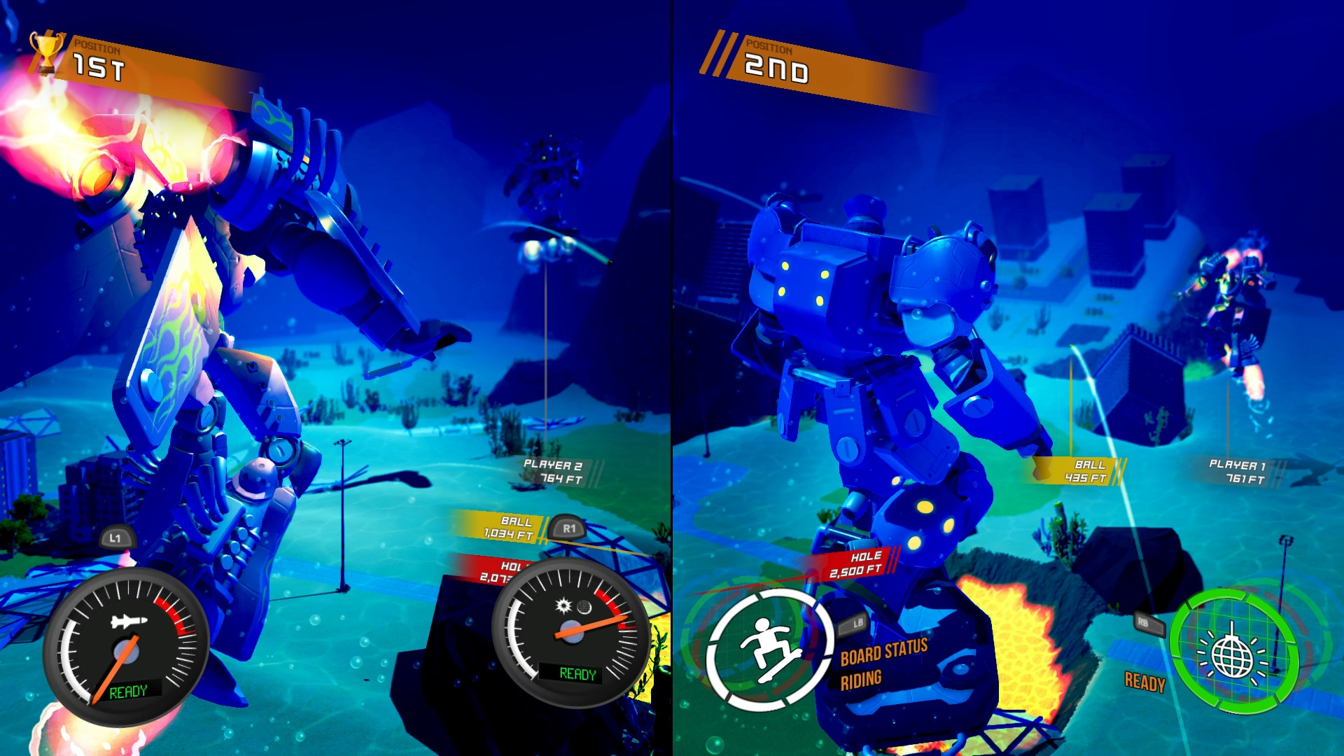 100ft Robot Golf Screenshot 2