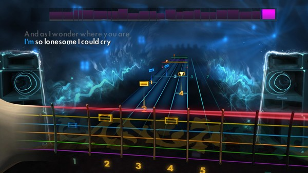 "Скриншот №1 к Rocksmith® 2014 – Hank Williams - ""Im So Lonesome I Could Cry"""