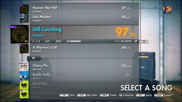 "Скриншот №5 к Rocksmith® 2014 – Volbeat - ""Still Counting"""