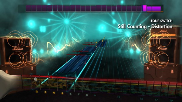 "Скриншот №1 к Rocksmith® 2014 – Volbeat - ""Still Counting"""