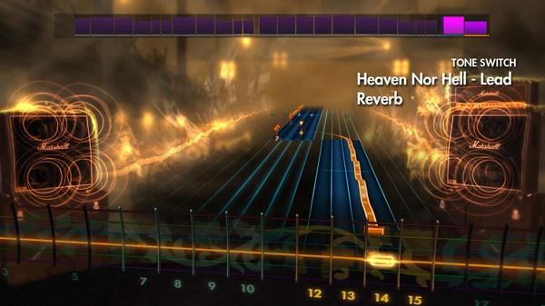"Скриншот №2 к Rocksmith® 2014 – Volbeat - ""Heaven Nor Hell"""