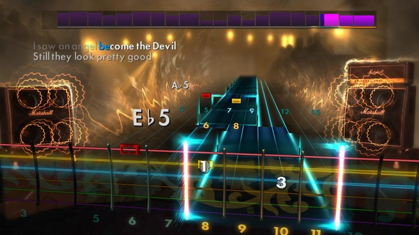 "Скриншот №1 к Rocksmith® 2014 – Volbeat - ""Heaven Nor Hell"""