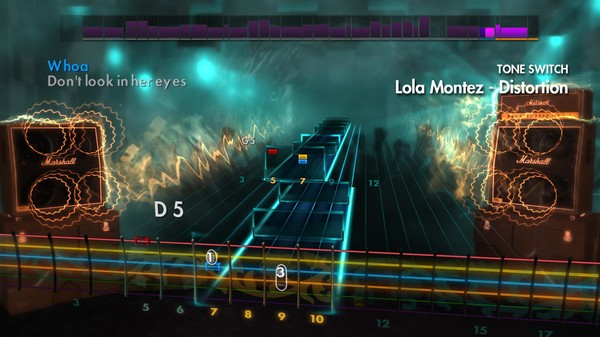"Скриншот №1 к Rocksmith® 2014 – Volbeat - ""Lola Montez"""