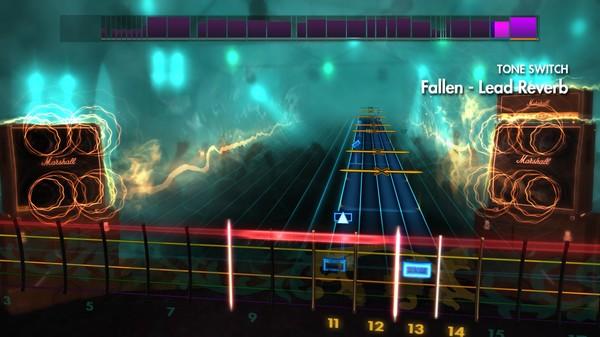 "Скриншот №2 к Rocksmith® 2014 – Volbeat - ""Fallen"""