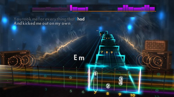 """Скриншот №1 к Rocksmith® 2014 – Queen - """"Another One Bites the Dust"""""""