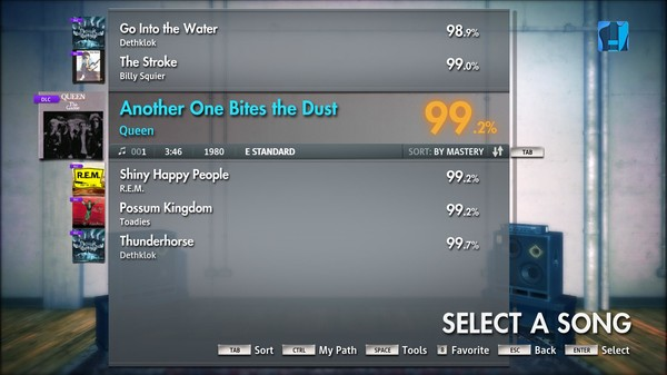 """Скриншот №5 к Rocksmith® 2014 – Queen - """"Another One Bites the Dust"""""""