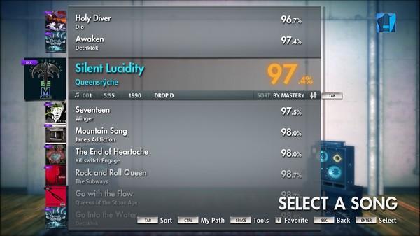 "Скриншот №4 к Rocksmith® 2014 – Queensrÿche - ""Silent Lucidity"""