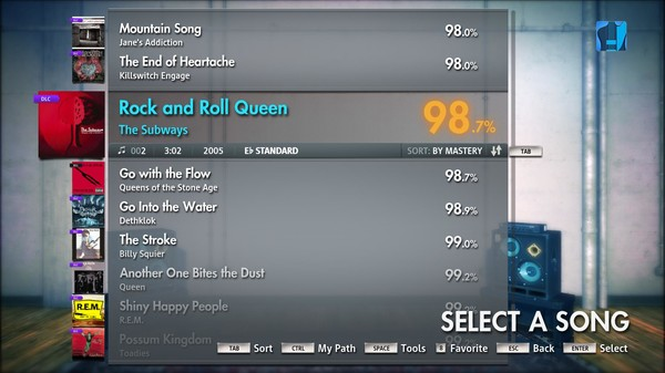 """Скриншот №2 к Rocksmith® 2014 – The Subways - """"Rock and Roll Queen"""""""
