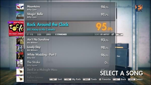 "Скриншот №5 к Rocksmith® 2014 – Bill Haley  His Comets - ""Rock Around the Clock"""