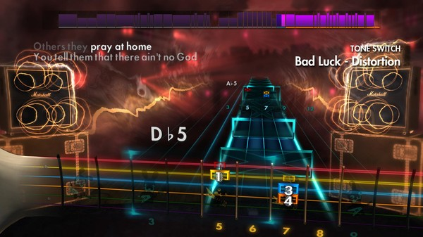 "Скриншот №4 к Rocksmith® 2014 – Social Distortion - ""Bad Luck"""