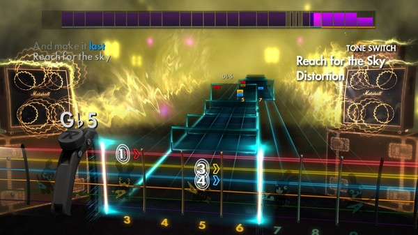 "Скриншот №1 к Rocksmith® 2014 – Social Distortion - ""Reach For The Sky"""