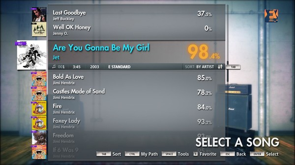 "Скриншот №3 к Rocksmith® 2014 – Jet - ""Are You Gonna Be My Girl"""