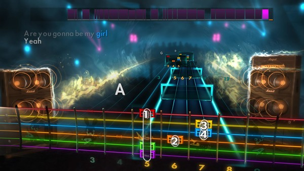 "Скриншот №2 к Rocksmith® 2014 – Jet - ""Are You Gonna Be My Girl"""
