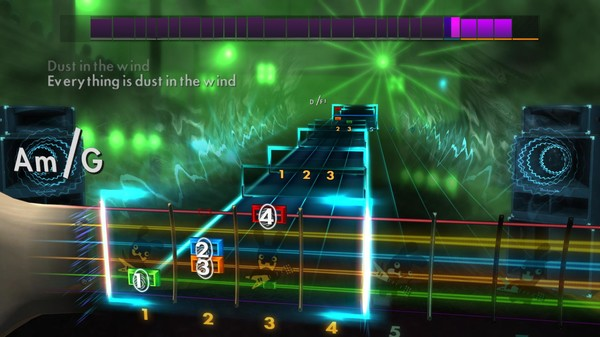 "Скриншот №4 к Rocksmith® 2014 – Kansas - ""Dust In the Wind"""