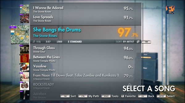 "Скриншот №5 к Rocksmith® 2014 – The Stone Roses - ""She Bangs The Drums"""