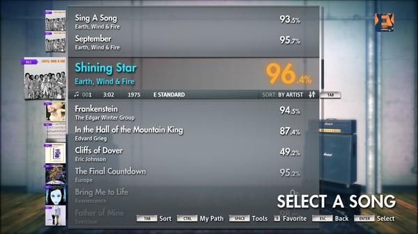 "Скриншот №5 к Rocksmith® 2014 – Earth Wind  Fire - ""Shining Star"""