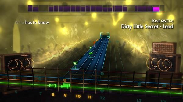 "Скриншот №1 к Rocksmith® 2014 – The All-American Rejects - ""Dirty Little Secret"""