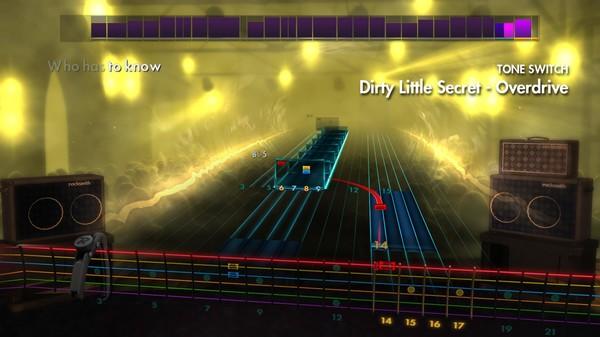 "Скриншот №2 к Rocksmith® 2014 – The All-American Rejects - ""Dirty Little Secret"""