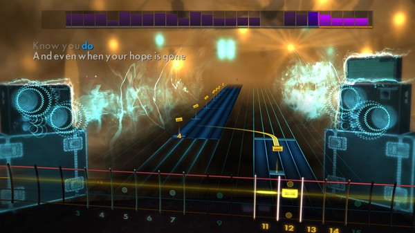 "Скриншот №5 к Rocksmith® 2014 – The All-American Rejects - ""Move Along"""