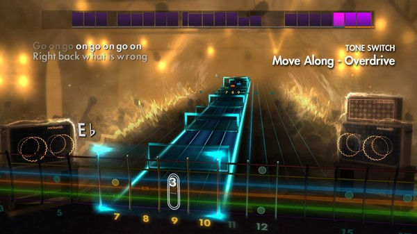 "Скриншот №2 к Rocksmith® 2014 – The All-American Rejects - ""Move Along"""