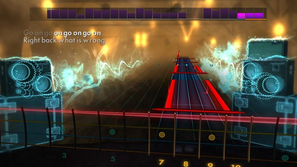 "Скриншот №4 к Rocksmith® 2014 – The All-American Rejects - ""Move Along"""