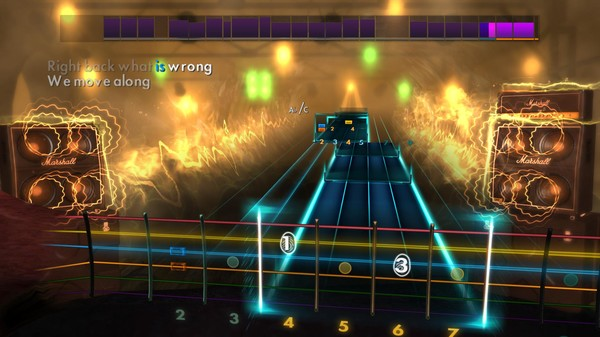 "Скриншот №3 к Rocksmith® 2014 – The All-American Rejects - ""Move Along"""
