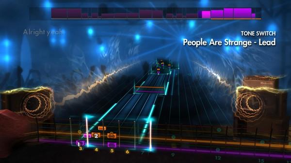 """Скриншот №1 к Rocksmith® 2014 – The Doors - """"People Are Strange"""""""
