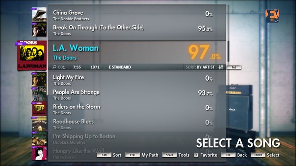 "Скриншот №5 к Rocksmith® 2014 – The Doors - ""L.A. Woman"""