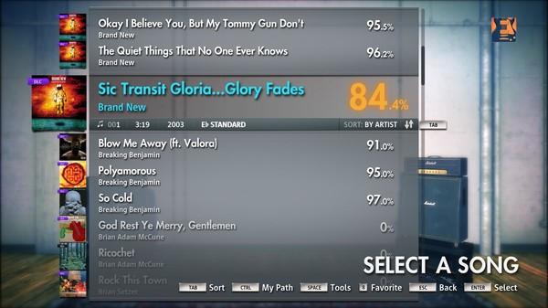 "Скриншот №2 к Rocksmith® 2014 – Brand New - ""Sic Transit Gloria... Glory Fades"""