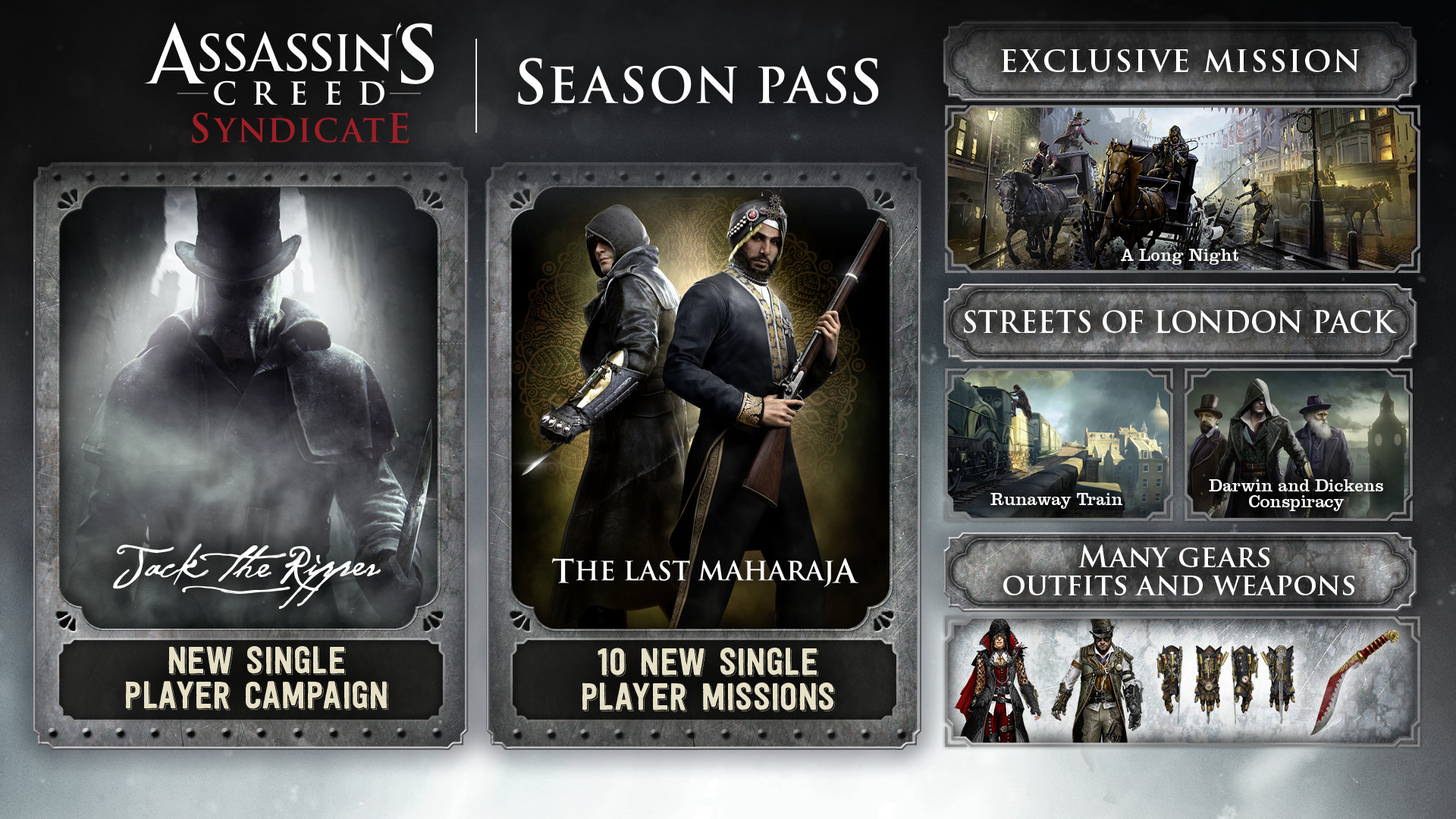 KHAiHOM.com - Assassin's Creed Syndicate Season Pass