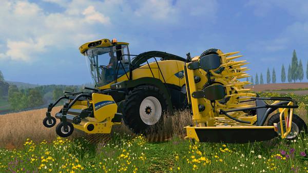 Скриншот №6 к Farming Simulator 15 - New Holland Pack