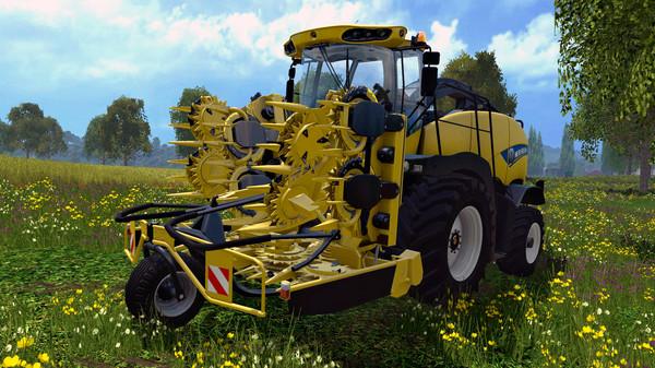 Скриншот №3 к Farming Simulator 15 - New Holland Pack