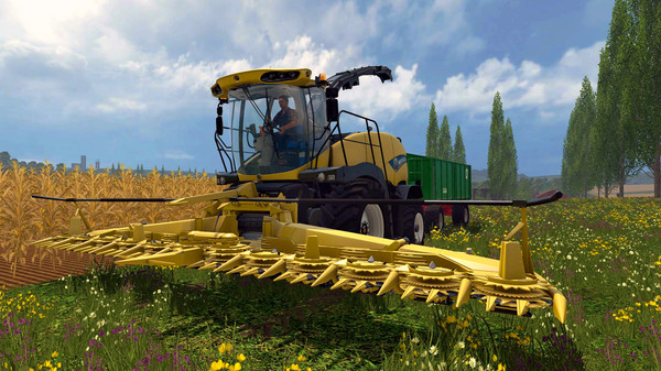 Скриншот №4 к Farming Simulator 15 - New Holland Pack
