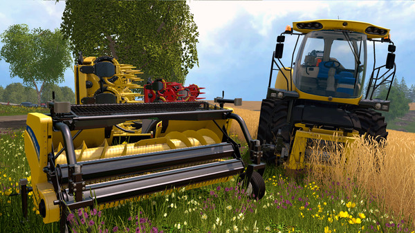 Скриншот №5 к Farming Simulator 15 - New Holland Pack