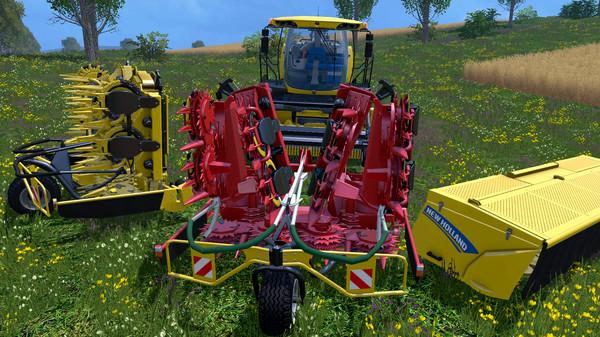 Скриншот №2 к Farming Simulator 15 - New Holland Pack