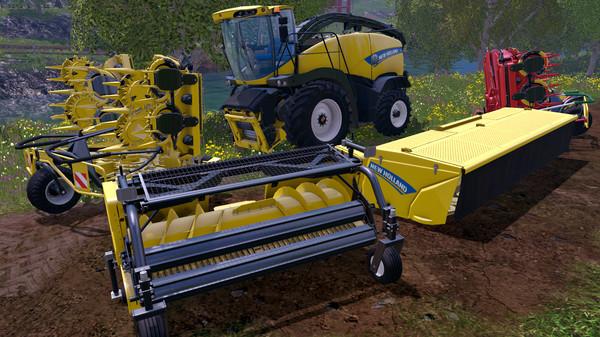 Скриншот №1 к Farming Simulator 15 - New Holland Pack