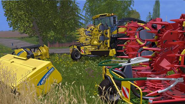 Скриншот №8 к Farming Simulator 15 - New Holland Pack