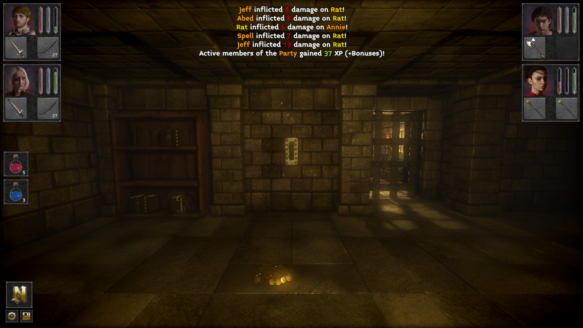 The Deep Paths: Labyrinth Of Andokost Screenshot 2