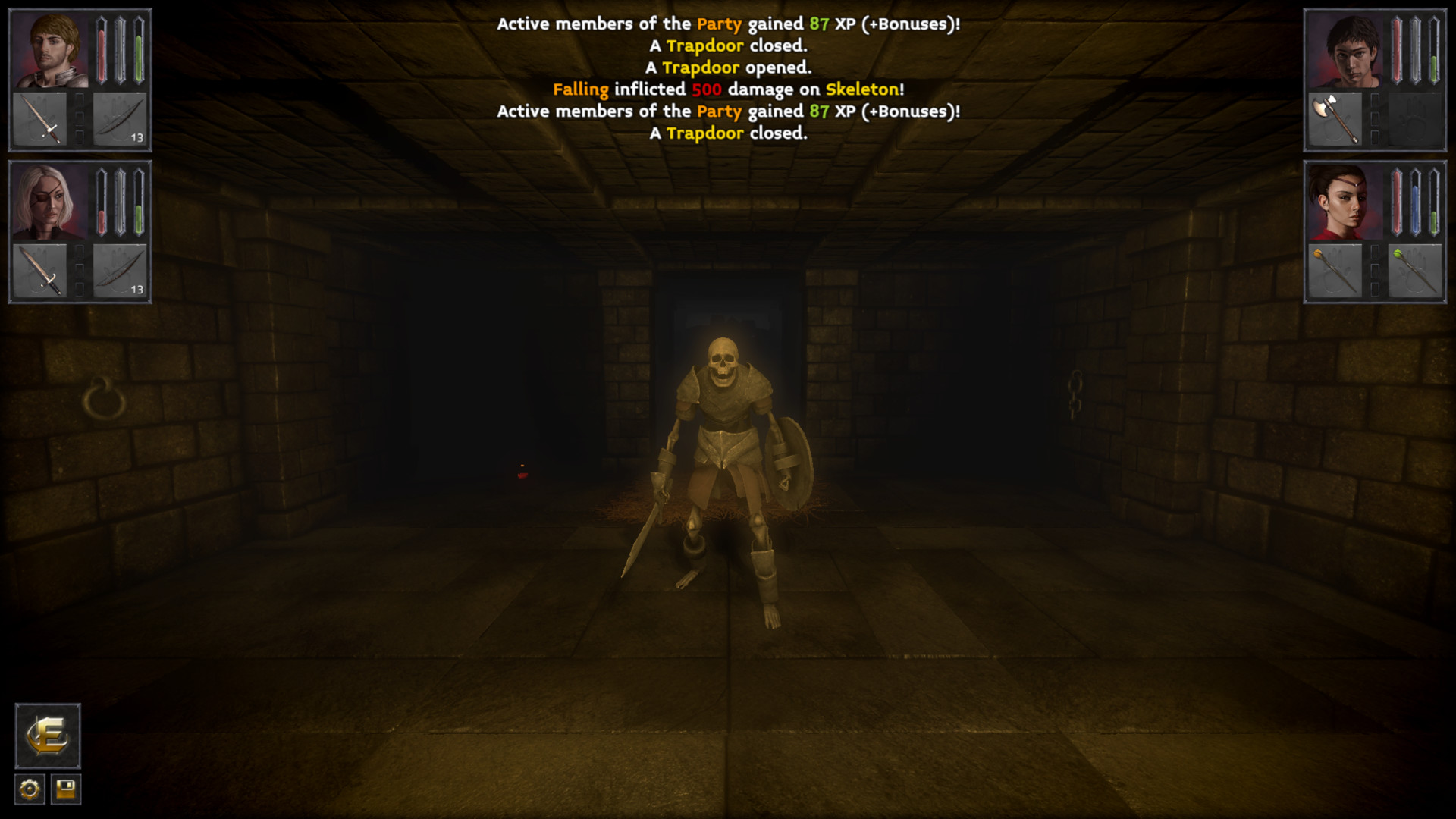 The Deep Paths: Labyrinth Of Andokost Screenshot 1