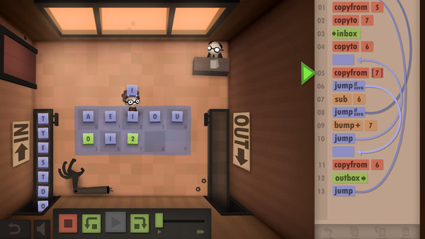 Скриншот №8 к Human Resource Machine