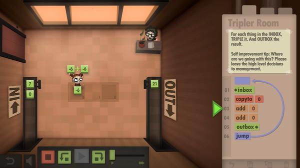 Human Resource Machine скриншот