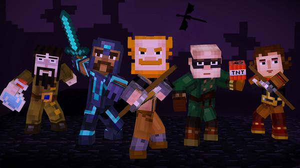 Скриншот №6 к Minecraft Story Mode - A Telltale Games Series